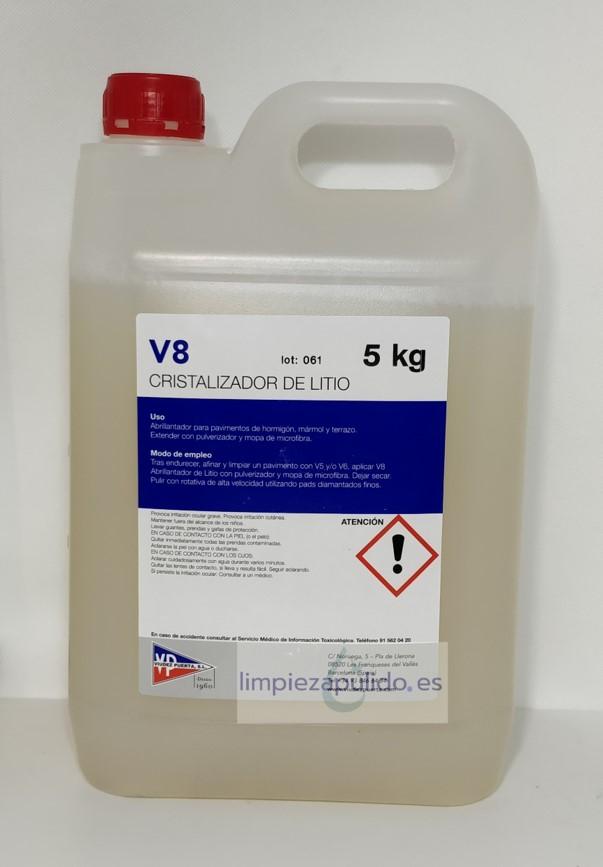 cristalizador v8
