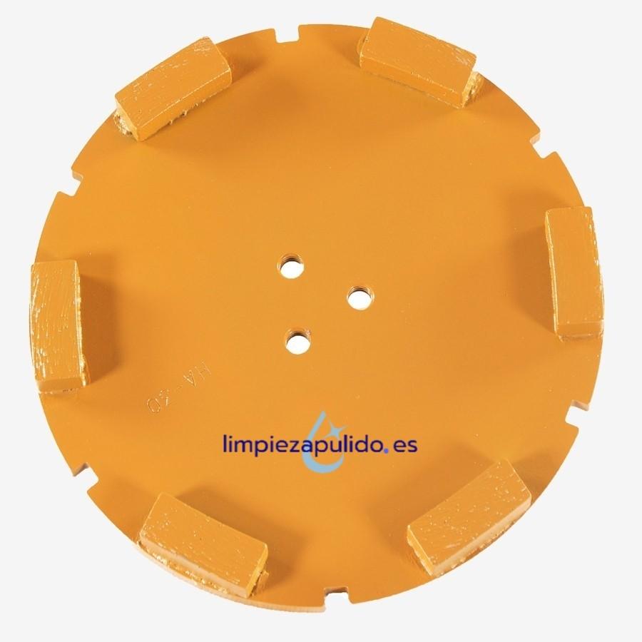 Corona Diamante Metálico para Satélite HA y HSA (Suelos medios y abrasivos)